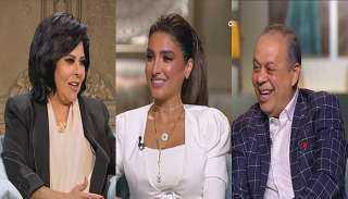 الفنان أشرف زكي وزوجته روجينا فى برنامج صاحبة السعادة للفنانة إسعاد يونس