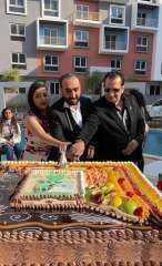 افاق العقارية تحتفل باول عروسين بكمبوند امورادا