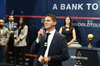 عمرو منسي ..انطلاق النسخة التاسعة لبطولة الجونة الدولية للاسكواش في 20 مايو المقبل