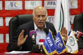 """بحضور وزير الشباب والرياضة رئيس الاتحاد الفلسطيني يوقع بروتوكول مع """"نوفافيرا"""" الاسيوطى"""