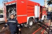 مصدر أمني: الحماية المدنية سيطرت على حريق سوق الغورية دون إصابات