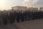 وزير الداخلية يتقدم جنازة عسكرية مهيبة لشهداء الواجب فى حادث سيناء الإرهابى
