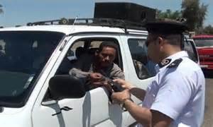 المرور يشن حملات مكبرة على الطرق لرصد المخالفات بالقاهرة والجيزة