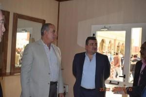وزير الآثار ومحافظا جنوب سيناء والبحر الأحمر يتفقدان مسجد الميناء بالغردقة