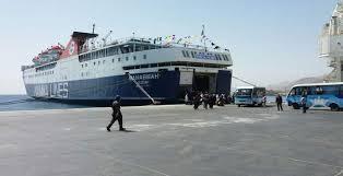 وصول وسفر 725 راكب بمينائى سفاجا والغردقة