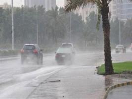 أمطار خفيفة تسقط علي أنحاء مدن سوهاج