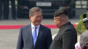 غداا. إعلان نتيجة اجتماع رئيسى كوريا الجنوبية والشمالية