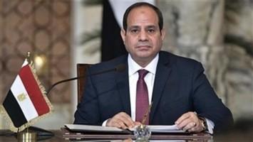 السيسى يقدم واجب العزاء لأسرة الرئيس الأسبق حسنى مبارك