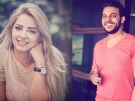 اشتعال قصة الحب من جديد بين مى حلمى ومحمد رشاد