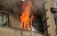 مصرع طفلين وإصابة شقيقهما في حريق شقة سكنية ببني سويف