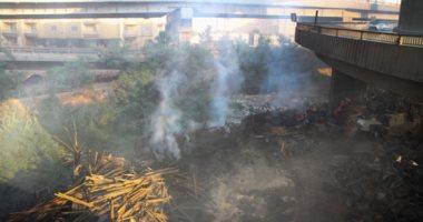 إخماد حريق داخل مخزن فى السلام دون إصابات