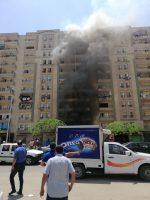 إخماد حريق داخل شقة سكنية فى أكتوبر دون إصابات