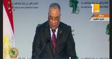 الرئيس السيسي: مصر قامت بسن وتفعيل التشريعات اللازمة لمكافحة الفساد
