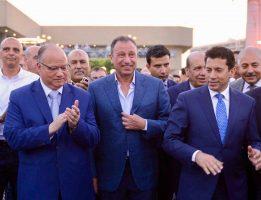 محافظ القاهرة يشيد بجهود إدارة الأهلي