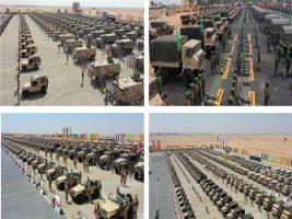 استعدادات عناصر القوات المسلحة لتأمين انتخابات مجلس الشيوخ
